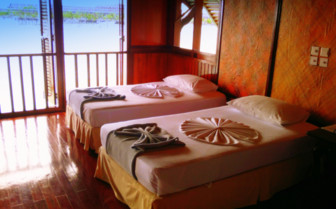 Picture of a room at Siladan-Kapalai Dive Resort