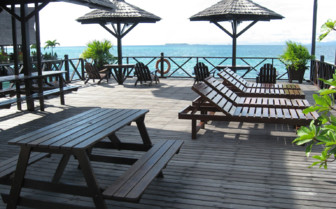 Picture of the Veranda at Sipadan-Kapalai Dive Resort