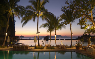 Picture of the Poolside Dining at El Nido Lagen Island Resort