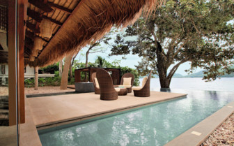 Picture of a pool villa at El Nido Pangulasian Island Resort