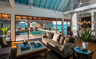Picture of the Lounge at the Four Seasons Landaa Giraavaru