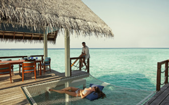 Picture of Relaxing at the Four Seasons Landaa Giraavaru