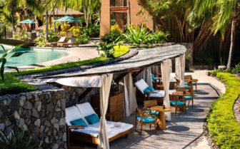 Picture of the Sun Loungers at the Four Seasons Peninsula Papagayo