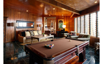 Picture of the billiards room at Namale Fiji Resort & Spa