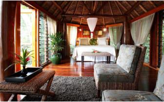 Picture of the honeymoon bure at Namale Fiji Resort & Spa
