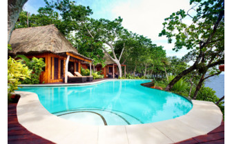 Picture of a pool bure at Namale Fiji Resort & Spa