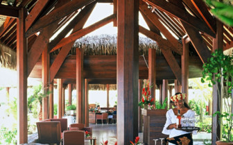 Picture of the restaurant at Tikehau Pearl Beach Resort