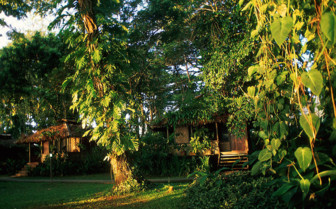 Picture of a plantation cottage at Walindi Plantation Resort