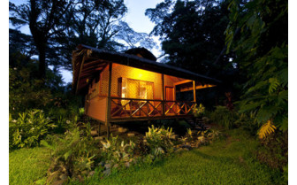 Picture of a cottage at Walindi Plantation Resort