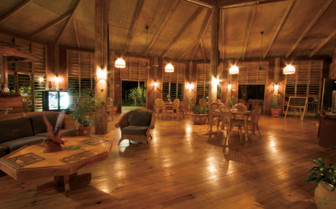 Picture of the lounge at Tufi Dive Resort