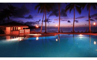 Picture of the pool at Palau Pacific Resort