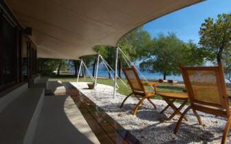Picture of the verandah at Palau Pacific Resort