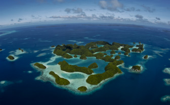 Aerial picture of Palau
