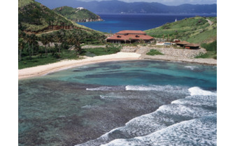 Picture of the peter island spa