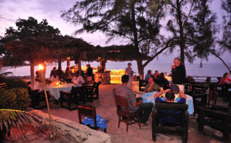 Picture of dining at Small Hope Bay Lodge