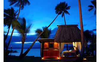 Picture of the spa at Jean Michel Cousteau Resort in Fiji