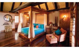 Picture of villa interior at Jean Michel Cousteau Resort in Fiji