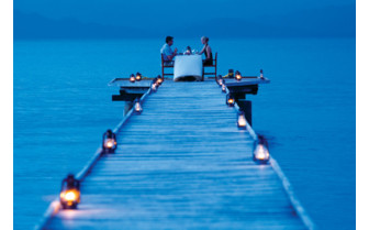Picture of the pier at Jean Michel Cousteau Resort in Fiji