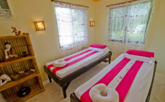 Picture of massage room Malapascua exotic island resort