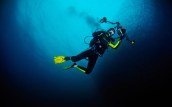Picture of Kasai village underwater photographer