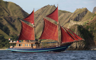 Picture of the Tiger Blue in Komodo