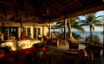 Picture of Bar and restaurant at Little Palm Island