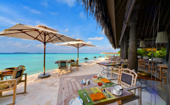 Picture of beachfront restaurant