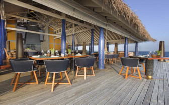 Picture of salt restaurant deck seating