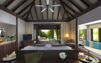 Picture of sunset beach pool villa