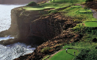 Golf courses at Four Seasons Lana'i Manele Bay