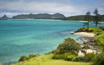 Lovers Bay Lord Howe Island