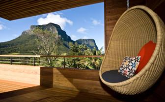 Makambo Hanging Chair at Capella Lodge