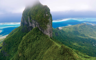 Mount Otemanu in French Polynesia