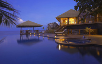 Swimming Pool, private villa, Seychelles