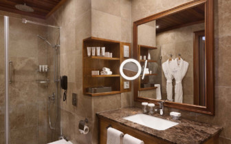 Junior Suite Bathroom, Kempinski