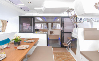 Catamaran Dining Deck