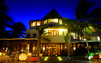Belmond Maroma Resort & Spa at Night