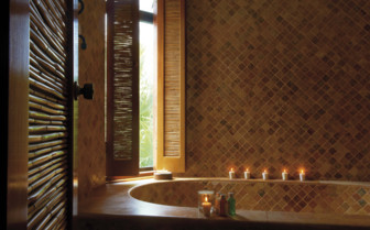 Deluxe Bath at the Belmond Maroma Resort & Spa