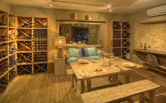 Wine Cellar at Azura Benguerra