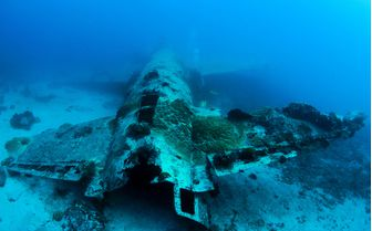 Plane Wreck, Chuuk Lagoon