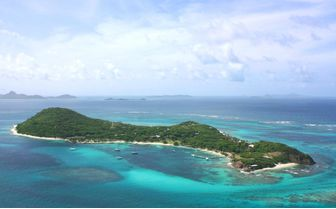 A picture of Petit St Vincent Island