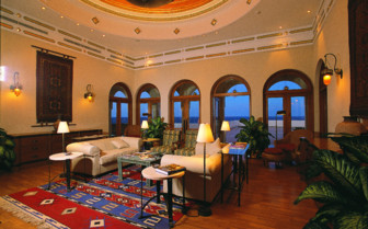 Picture of the interior of the Oberoi Sahl Hasheesh