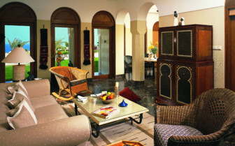 Picture of a suite living room at the Oberoi Sahl Hasheesh