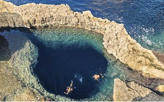 Blue hole azure window gozo
