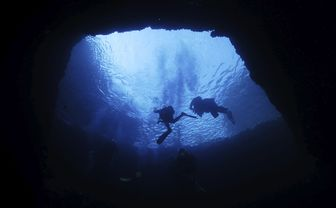 cave diving in gozo