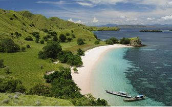 Komodo Coastline, Indonesia