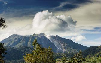 Berastagi Volcano, Sumatra, Indonesia