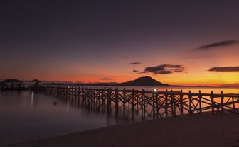 Komodo Islands, Sunset