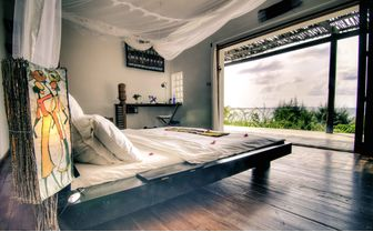 baia bed with view