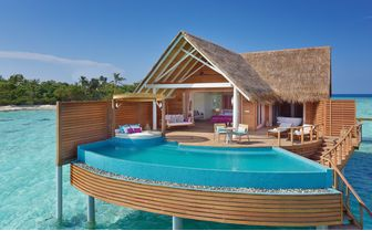 water pool villa exterior